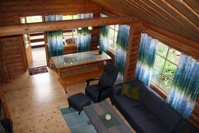 Mäntyniemi livingroom olohuone